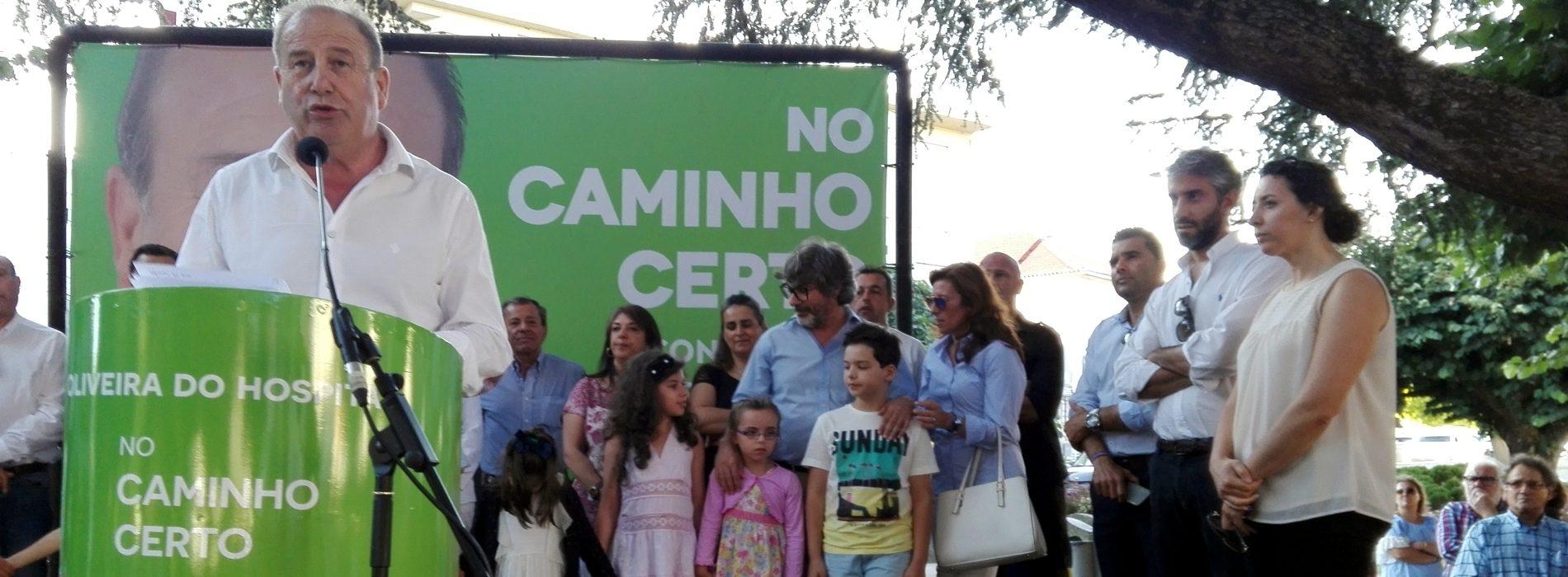 """PS volta a contar com José Carlos Alexandrino para """"uma grande vitória"""" em Oliveira do Hospital (com áudio)"""