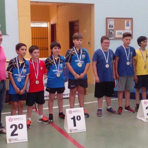 Ténis de Mesa: Atletas do CCPOH bem sucedidos no campeonato distrital