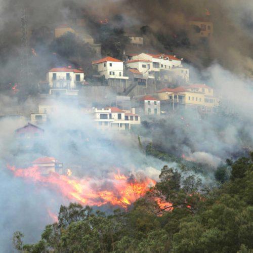 Madeira: Autor de incêndio que matou três pessoas condenado a 14 anos de prisão