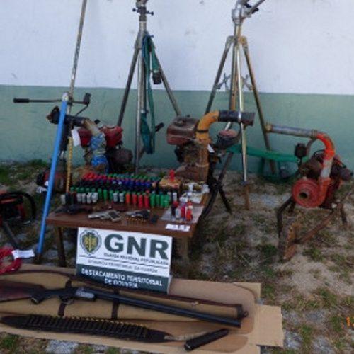 GNR deteve dois homens por posse ilegal de armas em Fornos de Algodres