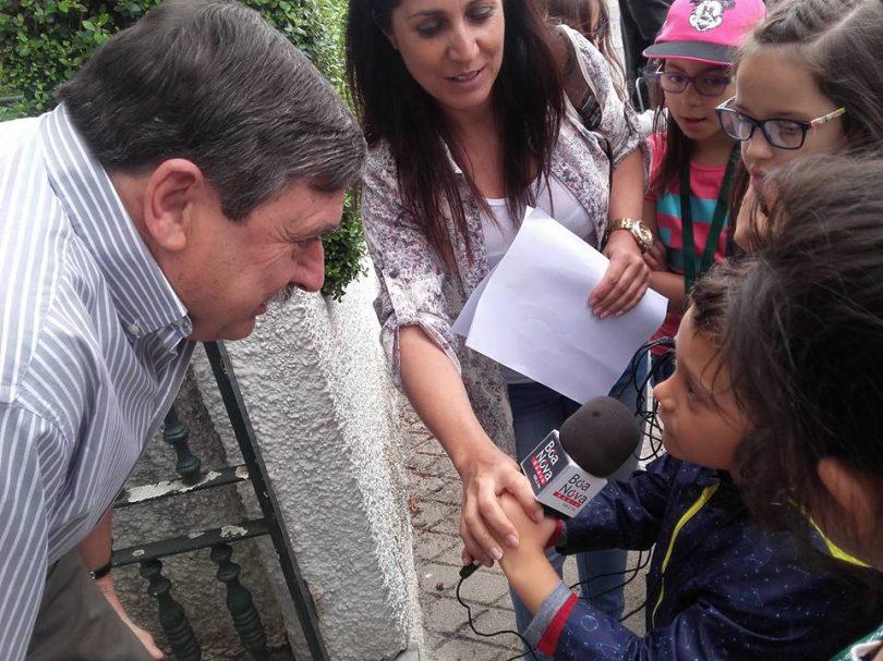 """""""Mini repórteres"""" da Rádio Boa Nova partiram à descoberta da toponímia do Vale Ferreiro"""