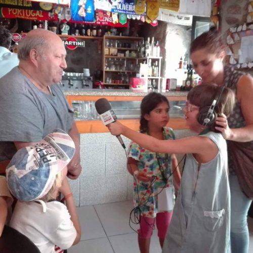 """""""Mini repórteres"""" da Rádio Boa Nova partiram à descoberta da gastronomia local"""