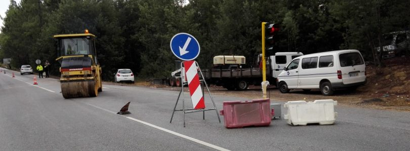 Estrada da Beira entrou hoje em obra. Trabalhos deverão demorar nove meses