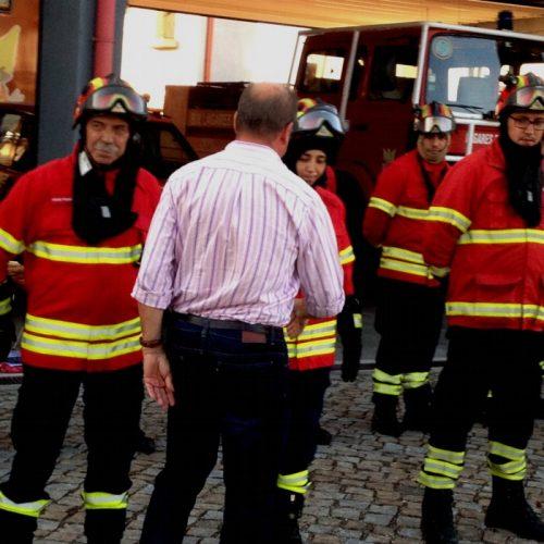 BV Lagares da Beira, recebeberam equipamento de proteção (EPI)