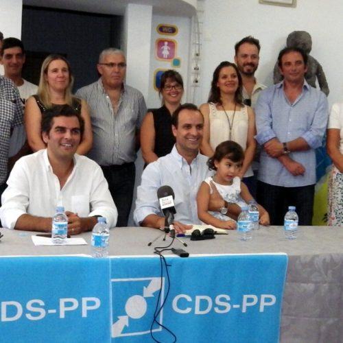 CDS-PP apresentou os seus candidatos aos órgãos autárquicos para as eleições de 1 de outubro