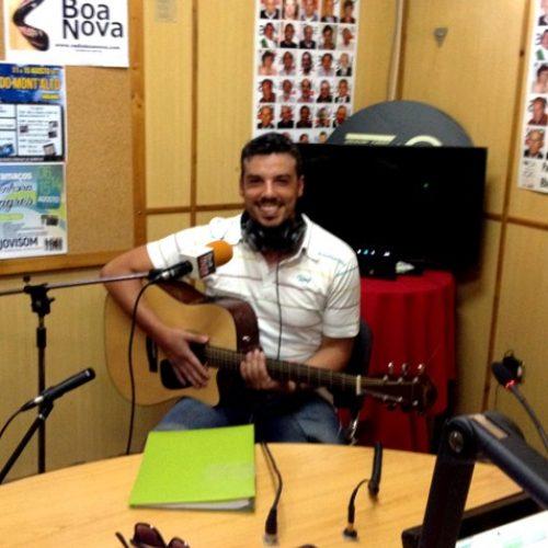 """Fábio Oliveira """"Fux Acústico"""" em entrevista na Rádio Boa Nova"""