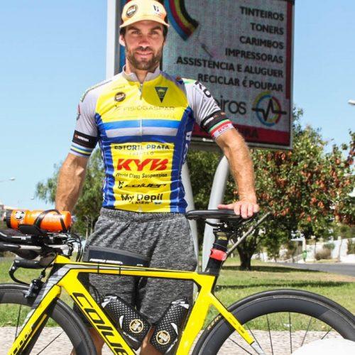 Jovem de Oliveira do Hospital foi de Chaves a Faro em bicicleta, numa só etapa, em cerca de 27 horas (com áudio)