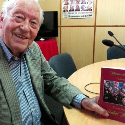 Feliciano da Silva apresentou livro de poesia na Rádio Boa Nova