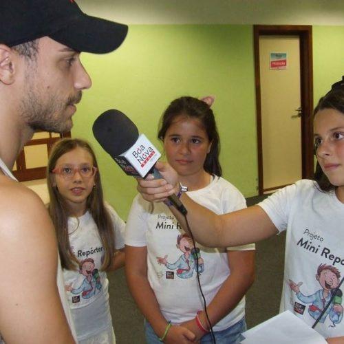 """""""Mini repórteres"""" da Rádio Boa Nova partiram à """"descoberta da EXPOH"""" (com áudio)"""