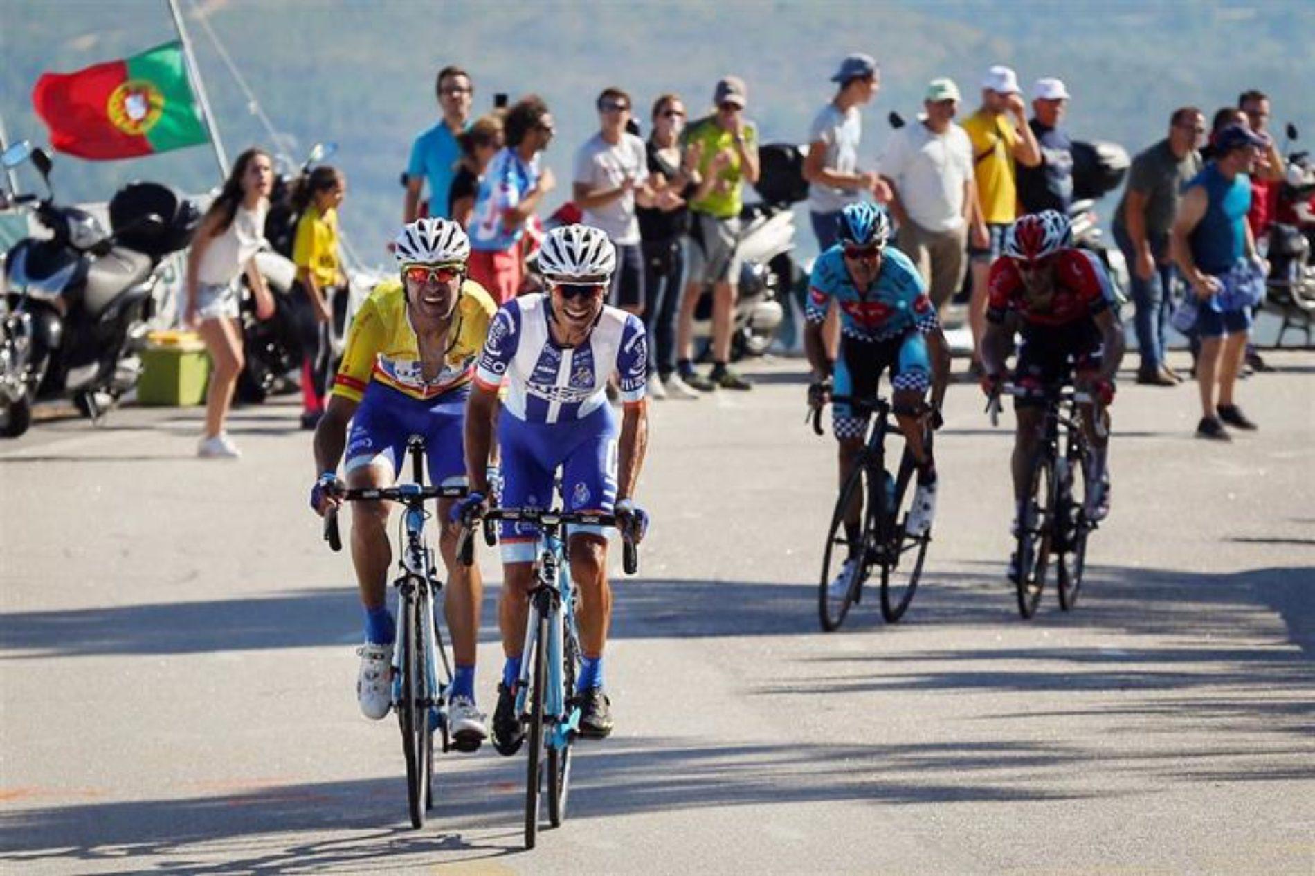 Pelotão cumpre quinta etapa da Volta a Portugal em Bicicleta