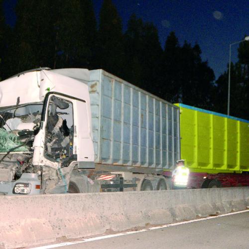 Acidente entre dois camiões causou um ferido grave no IP3