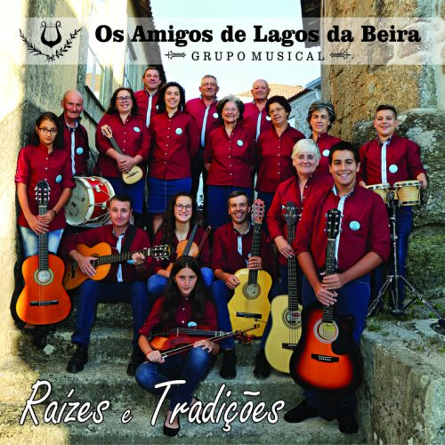 """Os Amigos de Lagos da Beira- Grupo Musical"" lançam novo CD"