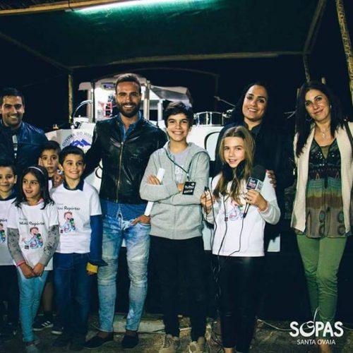 """""""Mini repórteres"""" da Rádio Boa Nova à descoberta do """"Festival das Sopas"""""""