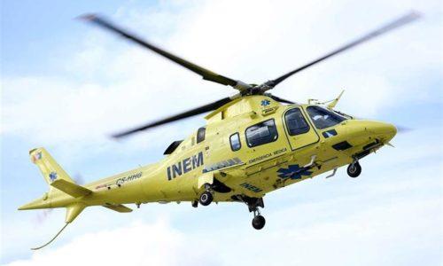 Helicóptero de emergência médica do INEM vai continuar em Viseu
