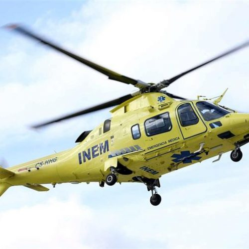 Dois homens ficaram feridos com gravidade em atropelamento na localidade de Parceiro