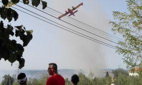 Proteção Civil sem os meios aéreos previstos para hoje