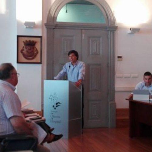 Última Assembleia Municipal antes das Autárquicas 2017. Nuno Vilafanha deputado do PSD, assumiu o apoio a José Carlos Alexandrino