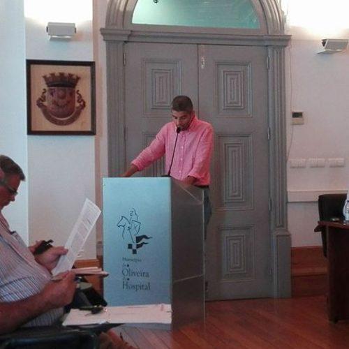 """Rafael Costa, deputado do PSD na Assembleia Municipal de Oliveira do Hospital faz avaliação de """"desilução""""do executivo"""