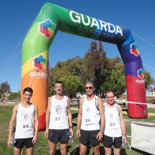Maratona Clube Vila Chã participou em Corta-Mato na Guarda