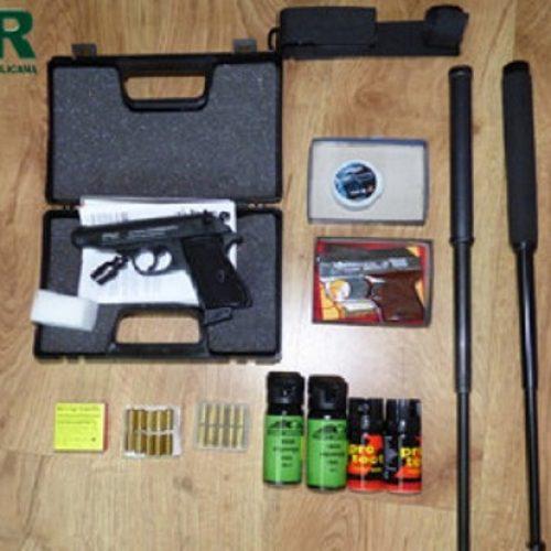Septuagenário detido em Viseu por posse ilegal de armas