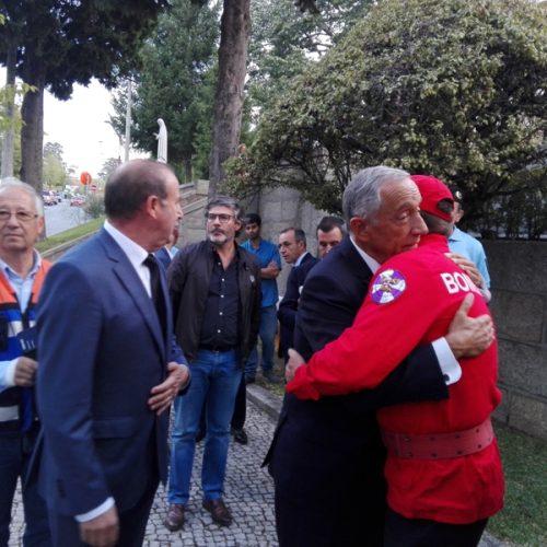 Marcelo vai passar Natal e Ano Novo com vítimas dos incêndios