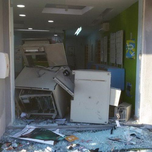 Duas máquinas multibanco roubadas por explosão no distrito de Coimbra