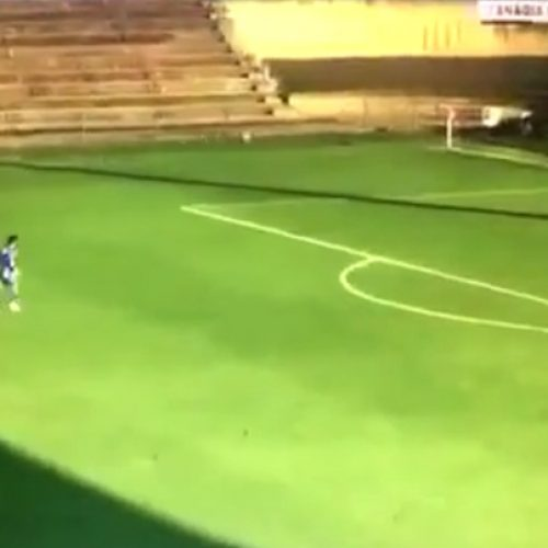 """""""Record"""" destaca golo de jogador do Nogueirense como candidato ao prémio """"Puskas"""""""