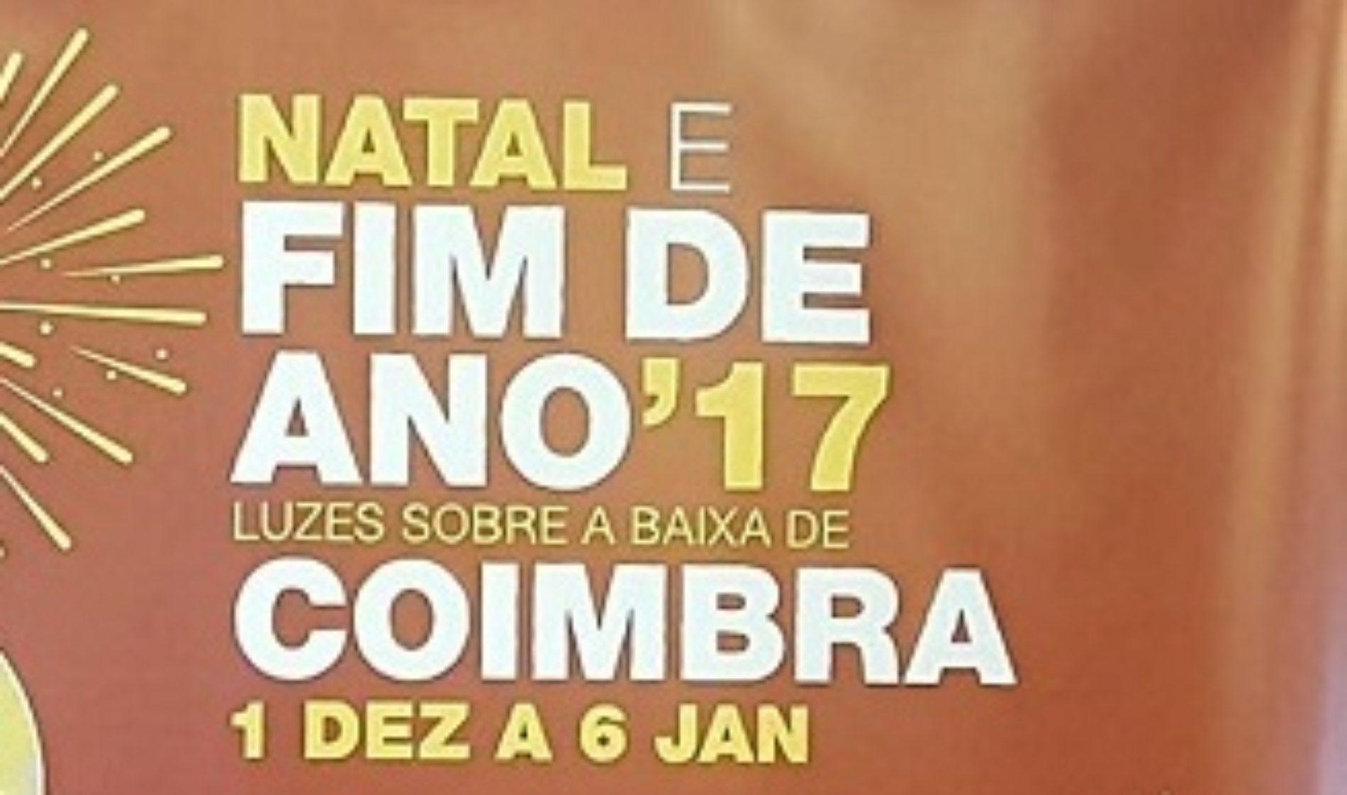 Coimbra com 45 dias de festa em Programa de Natal e Fim de Ano
