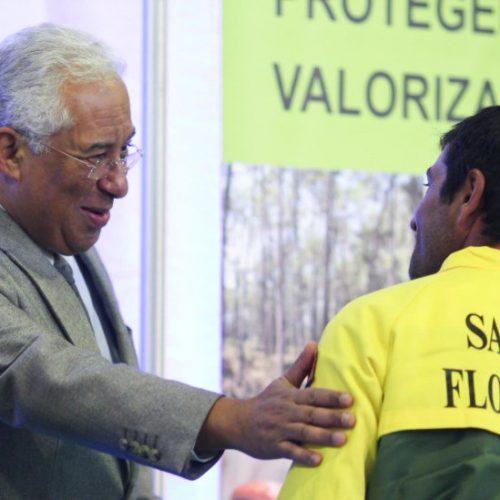 António Costa entregou novas viaturas a 44 equipas de sapadores florestais