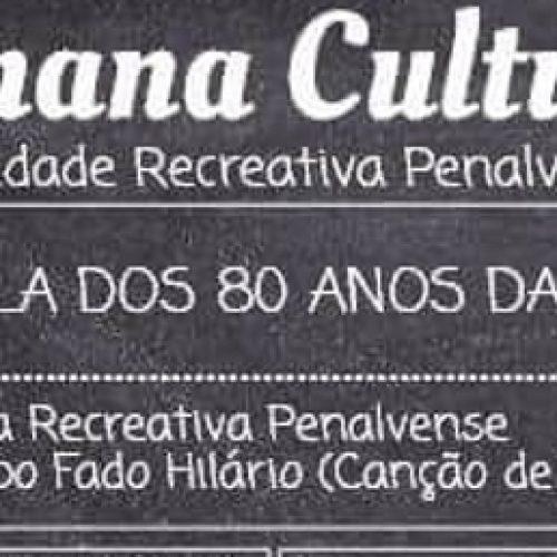 Sociedade Recreativa Penalvense comemora aniversário com Semana Cultural