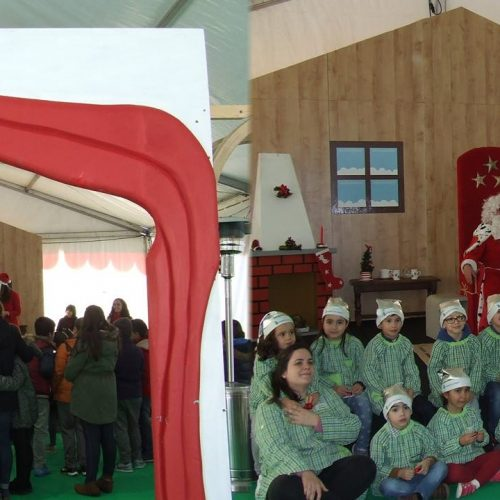 """""""Largo Encantado"""" anima quadra natalícia em Oliveira do Hospital (com vídeo)"""
