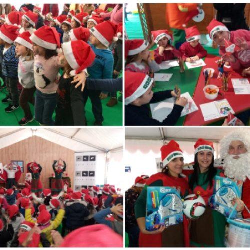 Fundação Luís Figo distribuiu presentes às crianças de Oliveira do Hospital