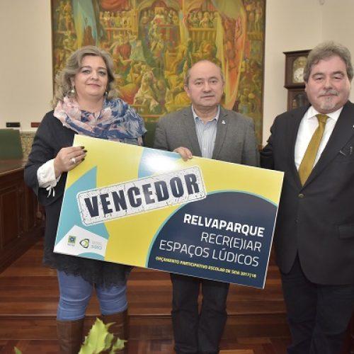 RELVAPARQUE vence 2ª edição do Orçamento Participativo Escolar