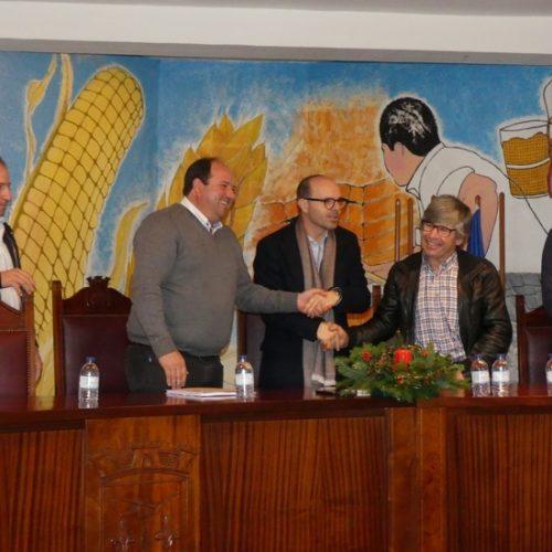 Município de Tábua assina contrato de execução de empreitada na União de Freguesias Pinheiro de Côja / Meda de Mouros