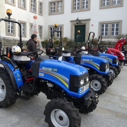 Cáritas Diocesana de Coimbra ofereceu tratores a agricultores de Tábua