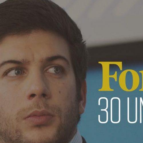 Líder da Juventude Popular com ligações a Oliveira do Hospital distinguido pela FORBES