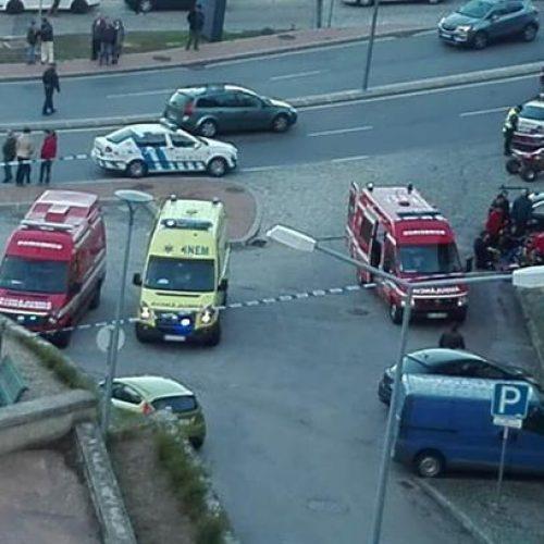 Atropelamento na Guarda fez dois mortos