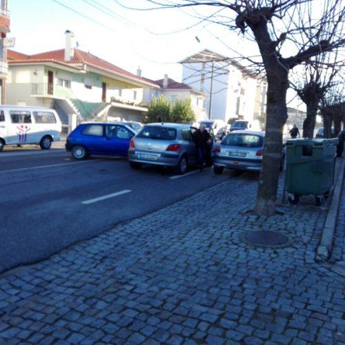 Acidente sem feridos na Catraia de S. Paio