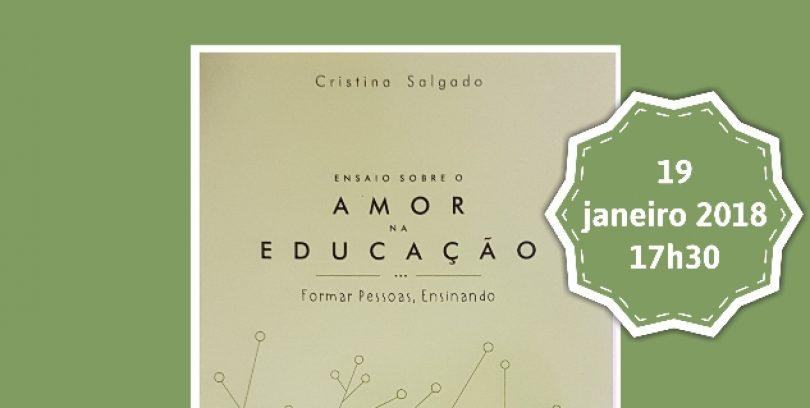 """Cristina Salgado apresenta """"O Amor na Educação""""  na Eptoliva"""