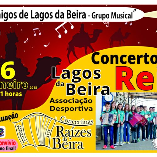 """""""Os Amigos de Lagos da Beira"""" realizam Concerto de Reis"""