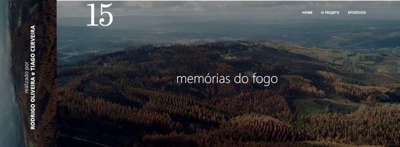"""""""Memórias do fogo"""" de Tiago Cerveira e Rodrigo Oliveira – 1º episódio"""