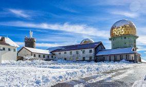 Serra da Estrela: Estância produz neve artificial para prolongar época