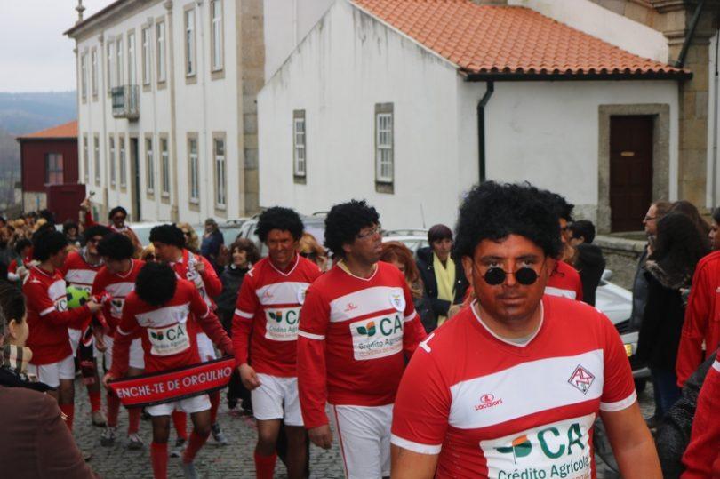 Carnaval do Agrupamento de Escolas animou Oliveira do Hospital