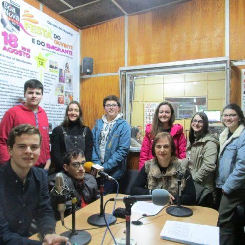 """""""A Escola e o Meio"""" na Rádio Boa Nova."""