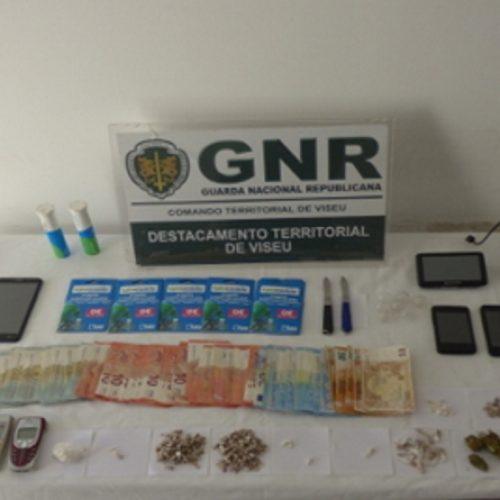 Quatro detidos por tráfico de estupefacientes em Viseu