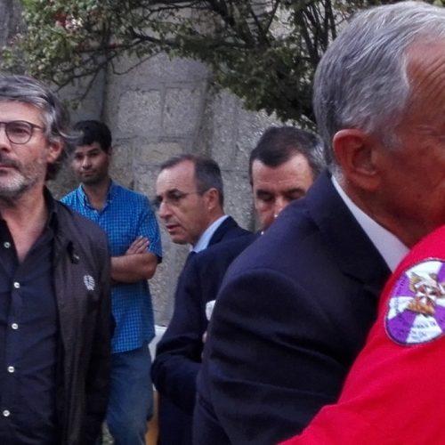 Marcelo Rebelo de Sousa preside a almoço solidário em Oliveira do Hospital