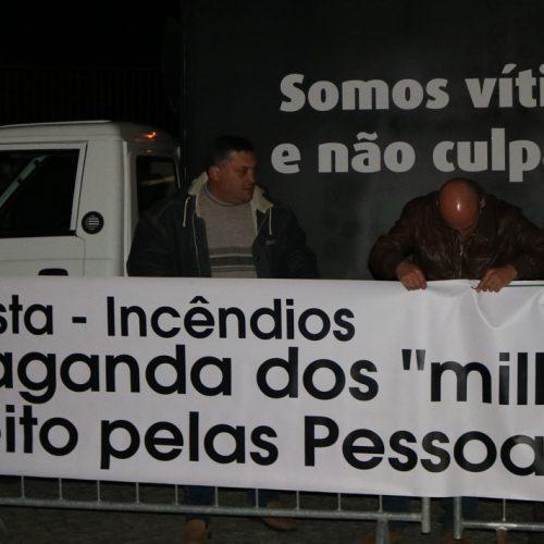 Agricultores e produtores florestais exigiram apoios ao governo
