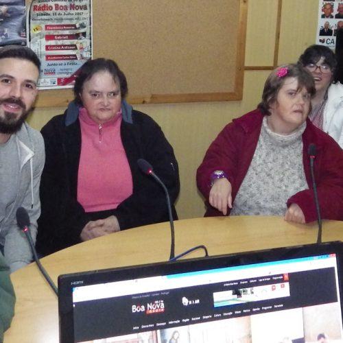 Utentes da Misericórdia de Galizes visitaram a Boa Nova por ocasião do Dia Mundial da Rádio (com vídeo)