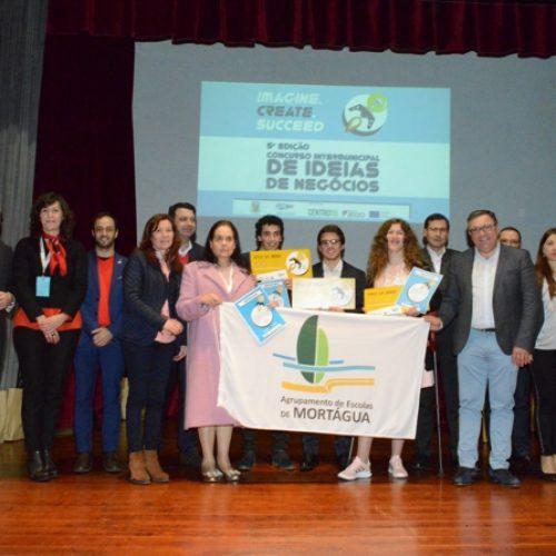 Escola de Mortágua venceu Concurso de Ideias de Negócio em Oliveira do Hospital