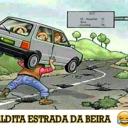 Multiplicam-se as críticas ao mau estado da Estrada da Beira
